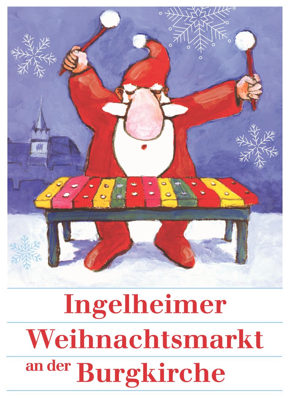 Weihnachtsmarkt an der Burgkirche